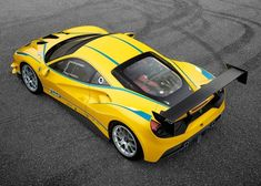 Ferrari has unveiled its 2017 488 Challenge car at the Finali Mondiali event in Daytona, which replaces the 458 machine, and will be its first-ever turbocharged one-make racecar. Ferrari 488 Gtb, Ferrari 2017, Ferrari World, Ferrari Racing, New Ferrari, Sport Cars, Race Cars, Daytona, Carros Premium