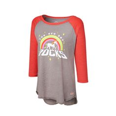 "The New Day ""New Day Rocks"" Women's Raglan T-Shirt"