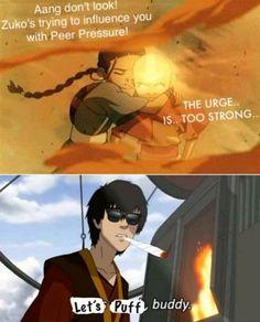 Peer Pressure, Zuko, Aang, Let It Be, Anime, Movies, Movie Posters, Films, Film Poster