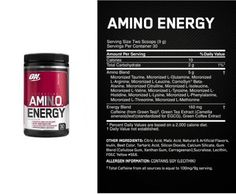 Our product of the Month for August is our Optimum Nutrition Amino Energy (270g). On offer at £26.99! Find out more at: