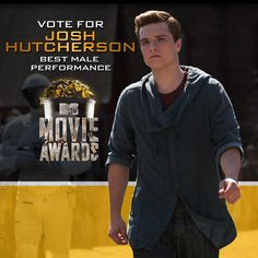Show your support for the Boy with the Bread. Vote for Josh Hutcherson at http://hungrgam.es/mma14! #MTVMovieAwards