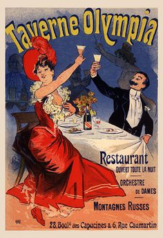 Cheret, Jules - Taverne Olympia (pl 217) - Jules Chéret - Wikipedia, the free encyclopedia