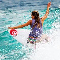Surf girl...  Alana Blanchard...