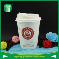 custom logo printed double wall paper cups in guangzhou