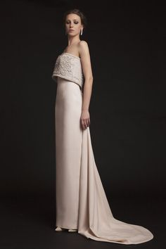 Spring 2015 Krikor Jabotian Wedding Dresses - MODwedding