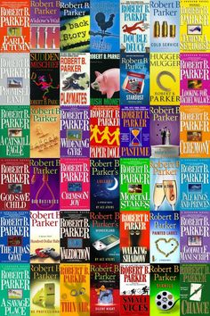 """Robert B. Parker's Private Detective 'Spenser"""" mystery series. One of my absolute Faves!!!"""