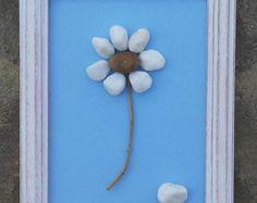 Pebble Art / Rock Art Flowers flower bouquet von CrawfordBunch