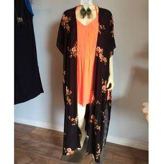 Floral kimono. $52 Call us, we ship! 504-324-3488