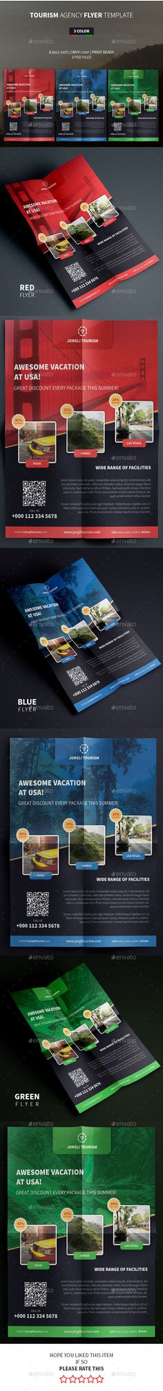 Tourism Agency Flyer Template
