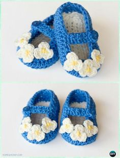 Crochet Mary Jane Baby Booties Free Pattern - Crochet Baby Booties Slippers Free Pattern