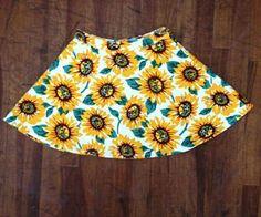 American Apparel sunflower skirt. NEED
