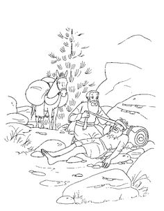coloring page Bible Stories - Bible Stories