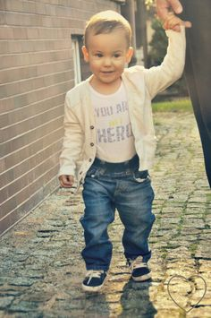cute little boy style. perfect outfit for the beginning of autumn