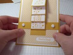 A simple tutorial for making  fun waterfall cards. Please visit my blog at www.dreamingaboutrubberstamps.com