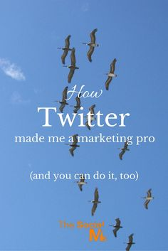 How Twitter made me a marketing pro