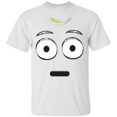 the best attitude bd816 ce94a Emoji T-Shirt With A Surprised Face Wide Eyes Shirt