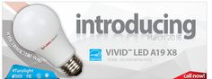 #PROMOTION #INTRODUCING #LED #A19 6W & 8.5W #Dimmable #ENERGYSTAR #TurolightLED #Turolight http://www.turolight.com/ccount/click.php?id=163 Call your local distributor now!