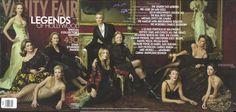 2001 From left: Nicole Kidman, Catherine Deneuve, Meryl Streep, Gwyneth Paltrow, Cate Blanchett, Kate Winslet, Vanessa Redgrave, Chloë Sevigny, Sophia Loren, and Penélope Cruz.