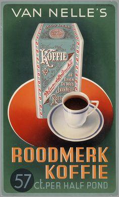 Koffie van Van Nelle ... Het aroma komt je tegemoet ...