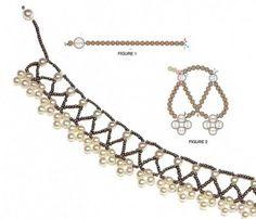 Collar delicado y simple con perlas