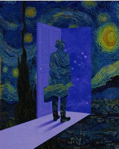 Starry Night 💗. Who's the artist?