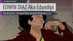 Ilustración de EDWIN DIAZ Aka Edandipi. Ilustración compartida desde Bogotá (COLOMBIA). Leer más http://www.colectivobicicleta.com/2013/08/Ilustracion-Edandipi-de-EDWIN-DIAZ.html