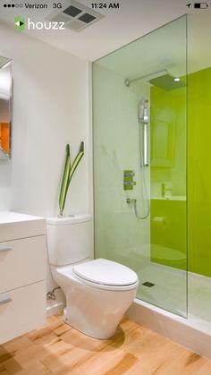 Heute Zeigen Wir Ihnen Ein Paar Ideen Wie Man Glas Statt Fliesen Im Bad  Verwenden Kann. Hochwertig Gestaltete Glas Wandpaneele Werten Das Bad  Optisch Auf