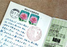 Midori Traveler's Notebook.  Need Stamps.
