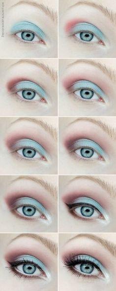 урок макияжа пошагово