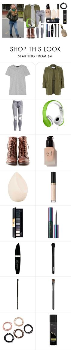 """""""Claire Novak Outift"""" by riddle-me-bliss ❤ liked on Polyvore featuring ATM by Anthony Thomas Melillo, River Island, AMIRI, LilGadgets, Liz Claiborne, e.l.f., Christian Dior, Yves Saint Laurent, Puma and Max Factor"""