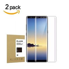 Galaxy Note8 Tempered Glass Screen Protector, WEIPAI [2 Pack] Scratch Resistant, High Definition Super Strong 9H Hardness Screen Protector for Samsung Galaxy Note8 (2 Pack-Black)  https://topcellulardeals.com/product/galaxy-note8-tempered-glass-screen-protector-weipai-2-pack-scratch-resistant-high-definition-super-strong-9h-hardness-screen-protector-for-samsung-galaxy-note8-2-pack-black/  Note8 Tempered Glass screen protector[NOT Full Coverage] ,designed for Samsung Galaxy No