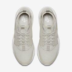 reputable site 13275 b1e20 Chaussure Nike Air Huarache Pas Cher Femme et Homme Ultra Breathe Gris Pale  Blanc Sommet Gris