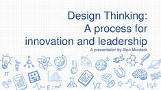 This presentation highlights a number of leading firms utilizing Design Thinking as a means for business development and innovation. Design Thinking Process, Design Process, Cross Functional Team, Human Centered Design, Knowledge Management, Harvard Business Review, Business Innovation, Slide Design, Deep Learning