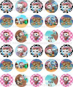 etiquetas Shriff Callie 2nd Birthday Parties, 4th Birthday, Cumple Sheriff Callie, Sheriff Callie's Wild West, Call Me, Birthdays, Diy Crafts, Cards, Bottle Caps