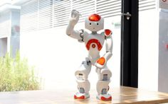 Video of robot dancing to tunes from every popular dance craze and decade.