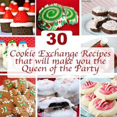 30 Cookie Exchange Recipes that will make you the Queen of the Party