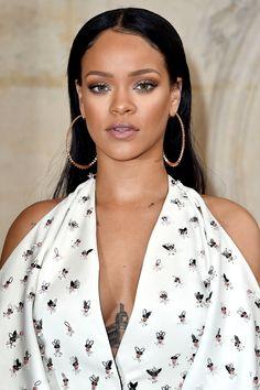 Rihanna at Christian Dior's SS 2017 in Paris. (30th September 2016)
