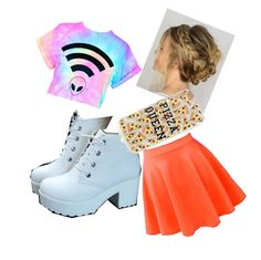 """""""A Random Alien Outfit"""" by lizzy-hagler on Polyvore"""