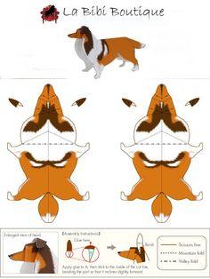 Collie Origami