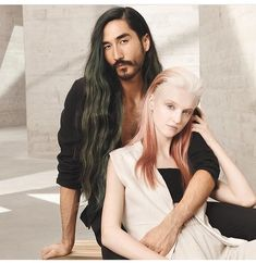 Collection 2018 advertising for Wella hair #wella #advertising #2018 #nontouring #shift #menwithlonghair #menwithbeards #asianmodel #asianactor with @peterschell_beauty @sabine__bc @lordjacobofsutton