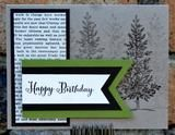 In today's class you will create four birthday cards with envelopes. Cards styles designs are feminine, masculine, and generic that can be used for children. Techniques will include rubber stamping, e                                                                                                                                                                                 More