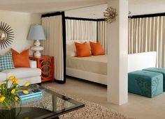 Идеи для малогабаритных квартир – дизайн спальни-гостиной