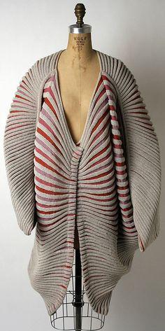 "Issey Miyake ""Seashell Coat"" ca. 1985 via The Costume Institute of the Metropolitan Museum of Art"