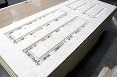 Metsä Wood deliveres Kerto-Q for Rocal's external doors Concrete Formwork, Laminated Veneer Lumber, Scaffold Boards, External Doors, Joinery, Beams, Industrial, Wood, Home Decor