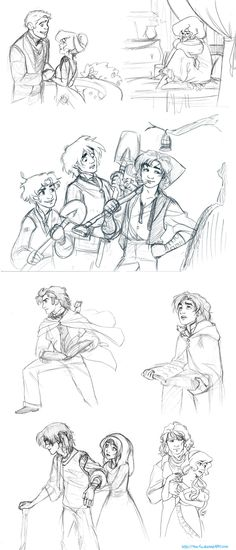 Story Sketches Dump by The-Ez on deviantART