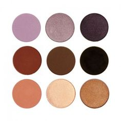 Makeup Geek 9-Eyeshadow Starter Kit $50.00 I kid you not, they are the same formula compared to the MAC shadows!! Except they're much cheaper!!