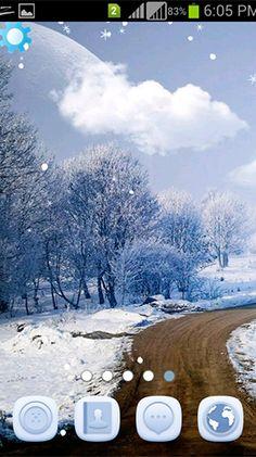 Download Free Android Wallpaper Winter Snowfall
