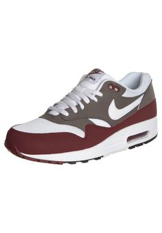 Heren Nike Air Max 1 Essential Team Rood Wit Running Sneaker,Fashion trainers will give