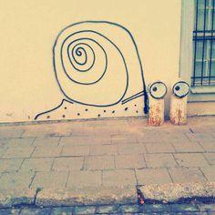 Ernest Zacharevic - Street Artist http://restreet.altervista.org/ernest-zacharevic-street-artist-che-unisce-reale-e-irreale/