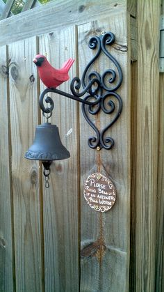 Please ring bell. If no answer pull weeds. by Shegardens4012, via Flickr